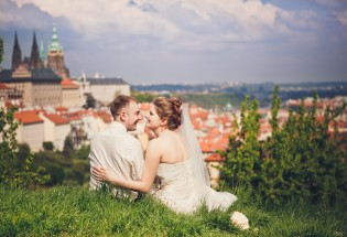 Свадьба в Праге. Церемония в Старогородской ратуше. Ирина и Антон.