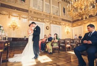 Свадьба в Праге. Церемония в Кауницком дворце.